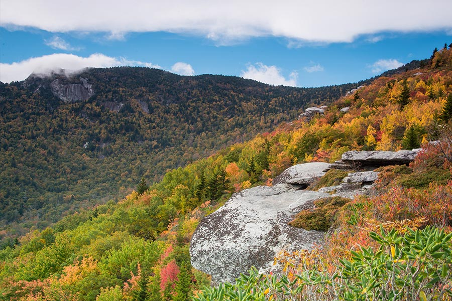 The Appalachian Trail offers great hiking trails and camping spots and is minutes from Boone, Blowing Rock and Banner Elk.