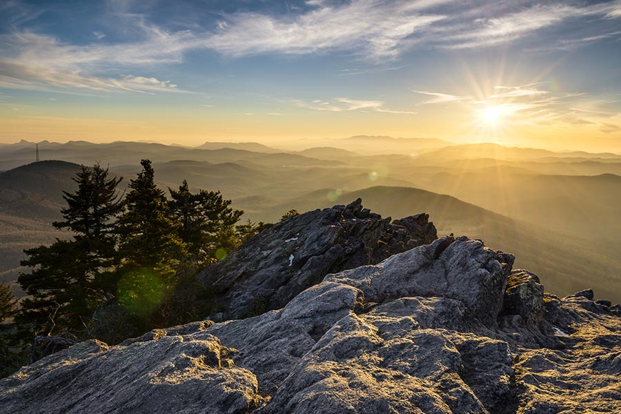 Grandfather Mountain is a great place to bring the family to view wildlife and enjoy the outdoors.