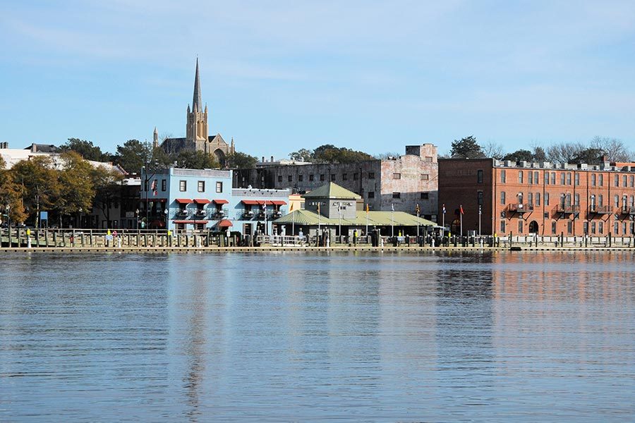 The Wilmington Riverwalk offers fine dining, music and entertainment for the whole family.