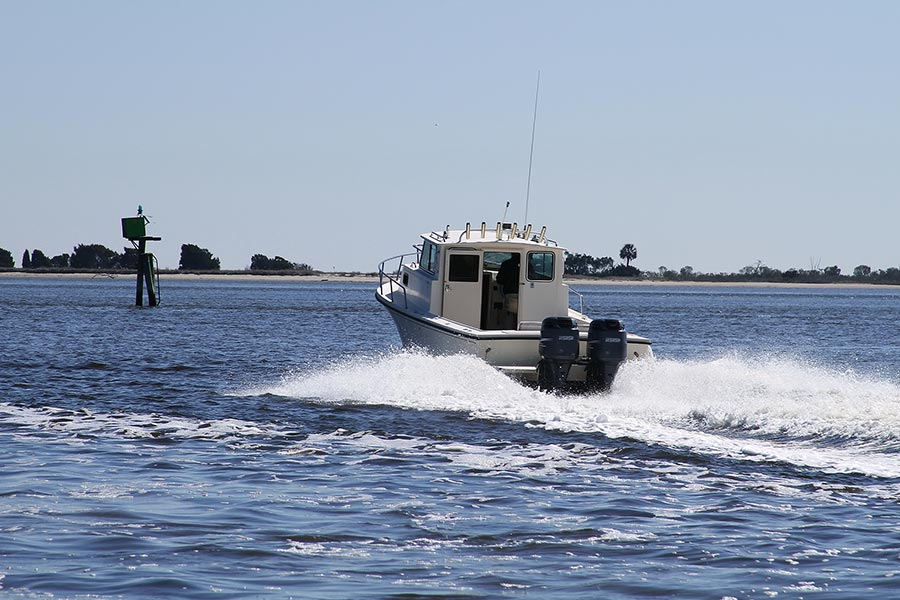 Oak Island's lifestyle, like the geography, is centered around the water.