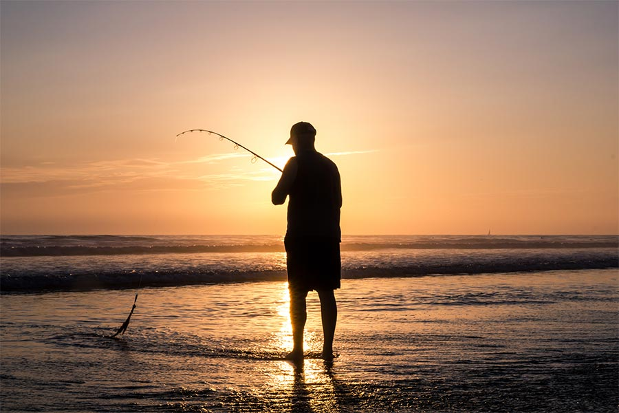Oak Island offers some incredible fishing, onshore and off.